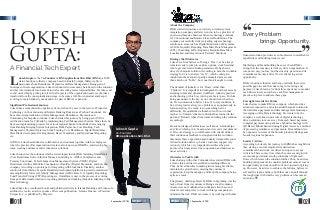 Lokesh Gupta: A Financial Tech Expert