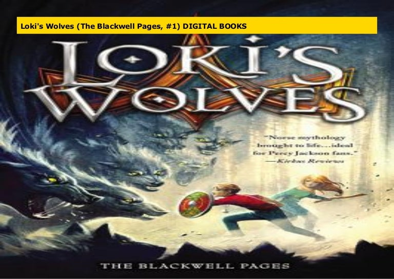 Lokis Wolves The Blackwell Pages 1 By Kl Armstrong