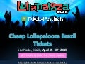 Lollapalooza Brazil Tickets Discount