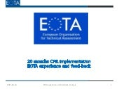 London build 2015 06 eota - eta tool for non-standardised products-pds