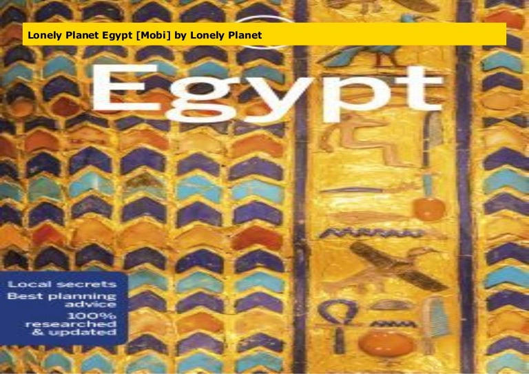 Lonely Planet Egypt Mobi By Lonely Planet