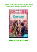 *eBook Download Lonely Planet Korean Phrasebook & Dictionary Full Online
