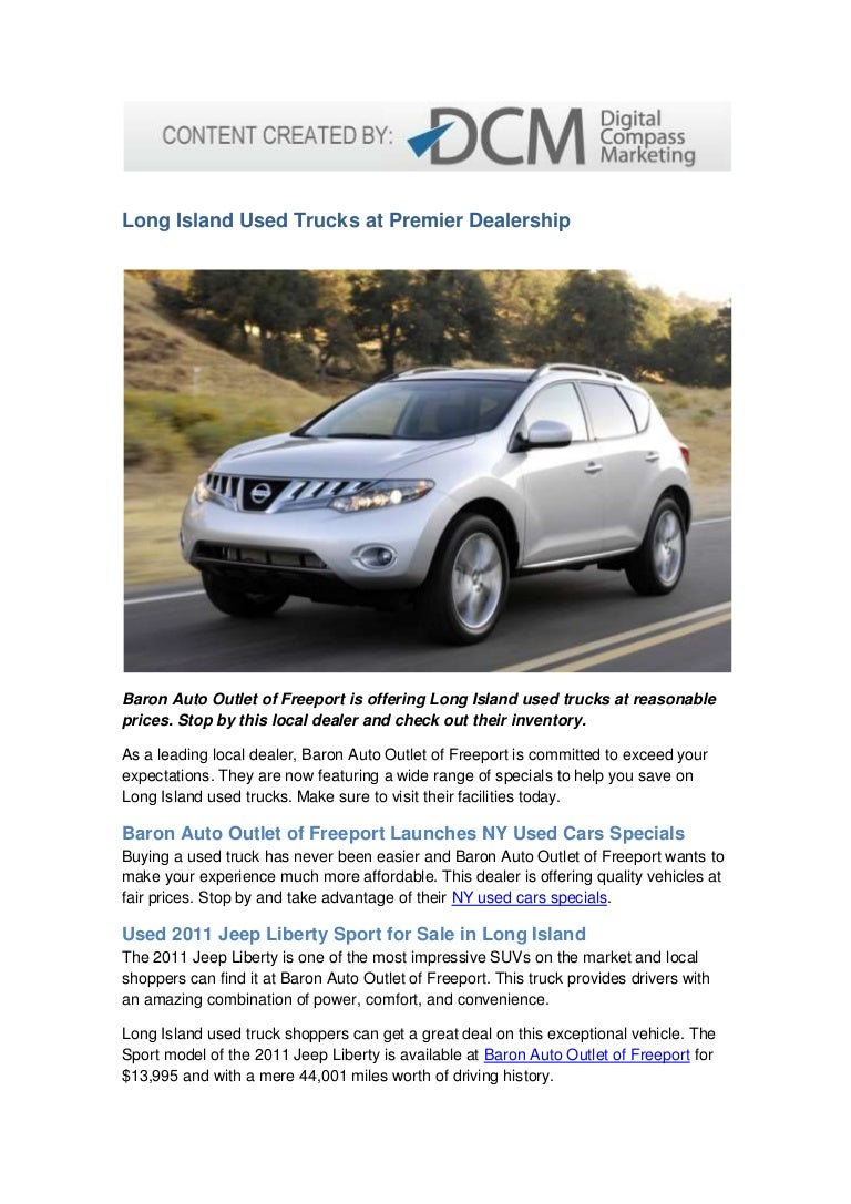 Long Island Used Trucks At Premier Dealership
