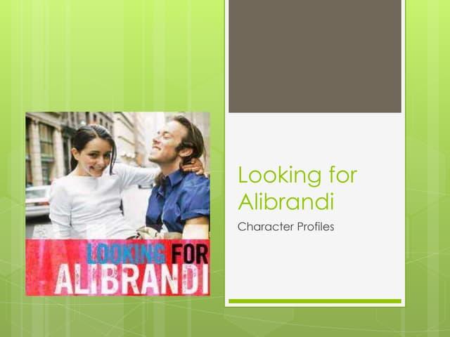 Looking for Alibrandi character profiles