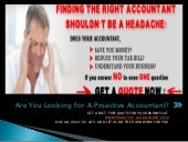 Are You Looking For A Proactive, Affordable UK Accountant?