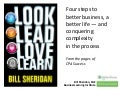 Look, Lead, Love, Learn