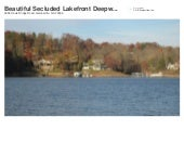 7 Beautiful Lots on Lake Lanier Deepwater