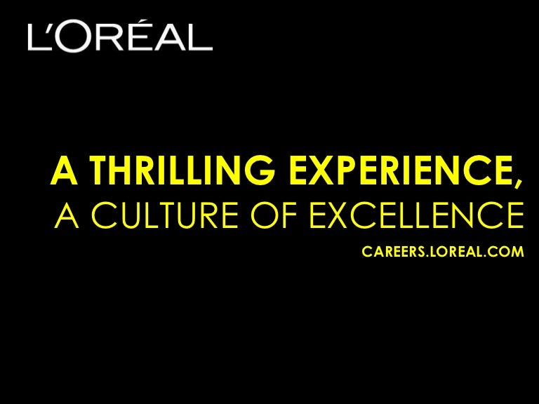 L'Oreal Employer Branding and Employee Value Proposition (EVP)