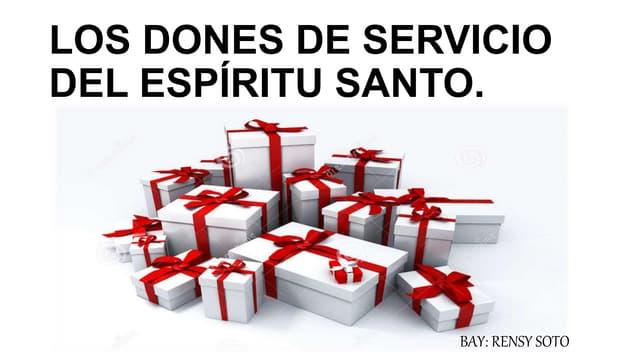 Los dones-de-servicio-del-espíritu-santo