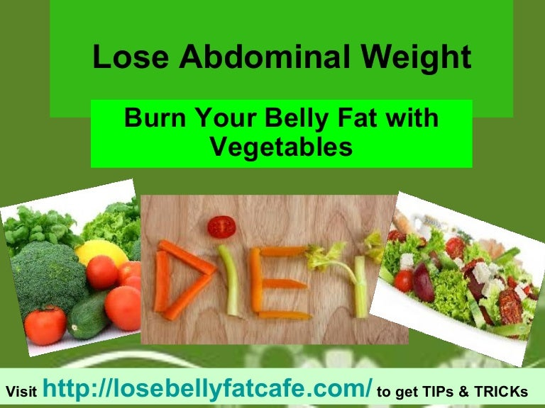 4 food items that burn belly fat