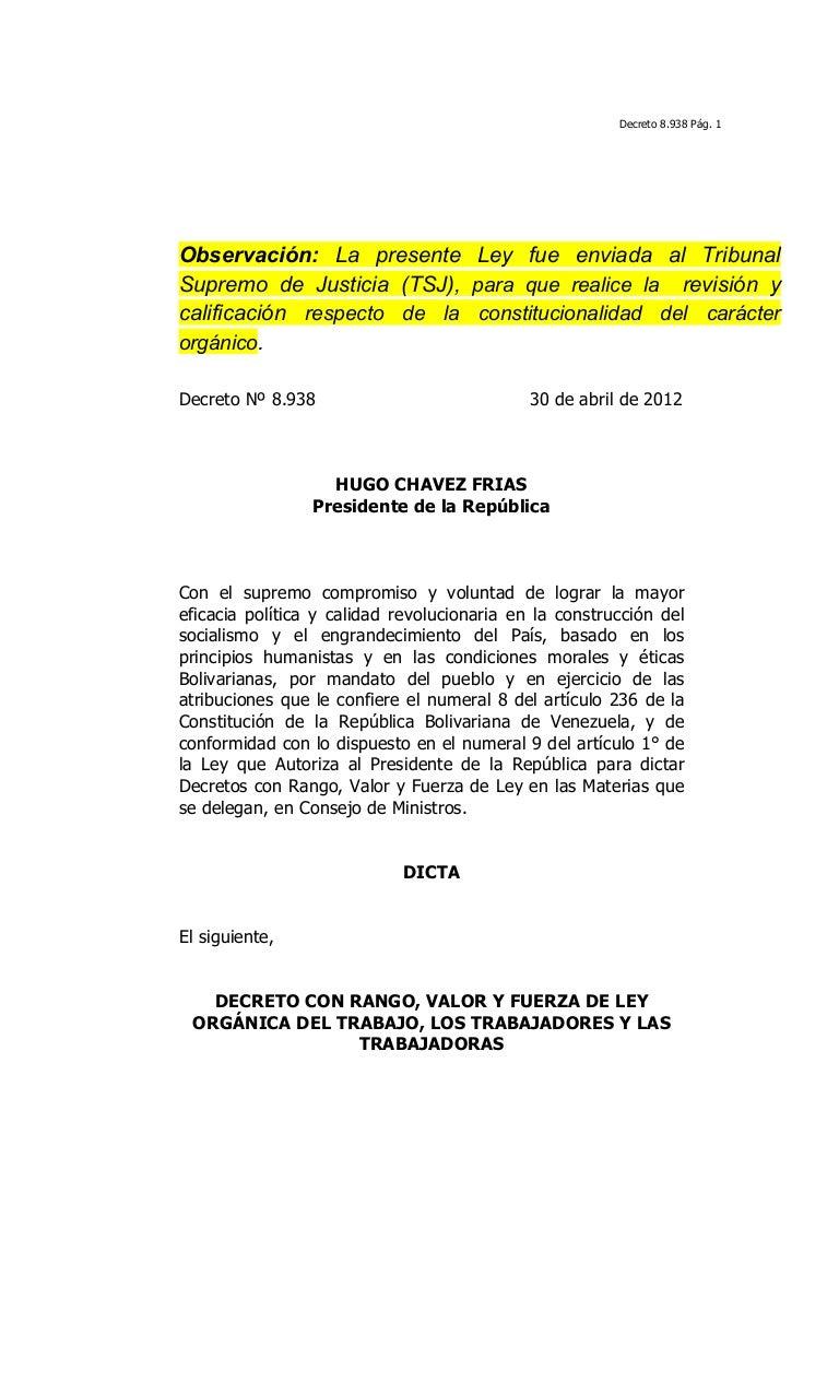 Ley org nica del trabajo 2012 - Ejemplo certificado energetico piso ...