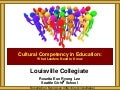 Louisville Collegiate Cultural Competency Leadership