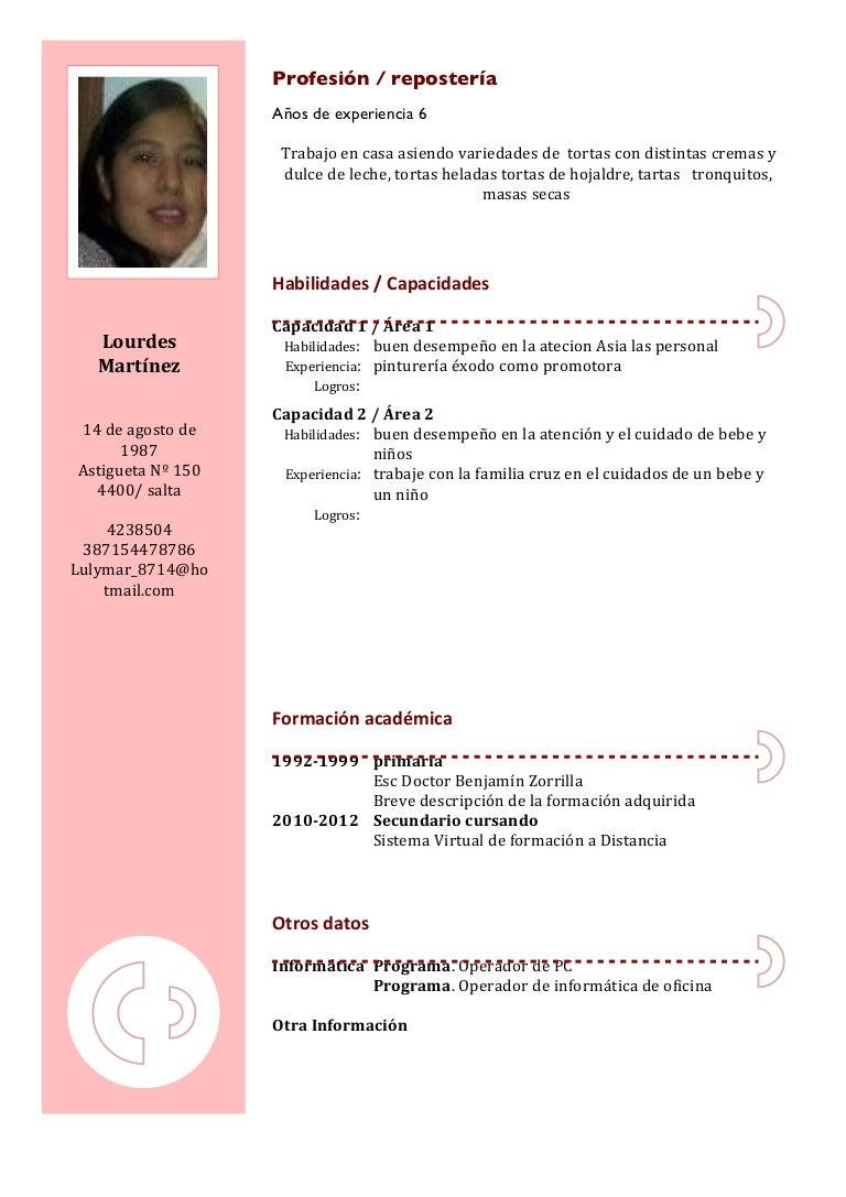Lourdes Martinez Curriculum 14 4