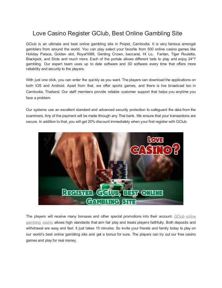 Gclub Baccarat Best Online Gambling Site