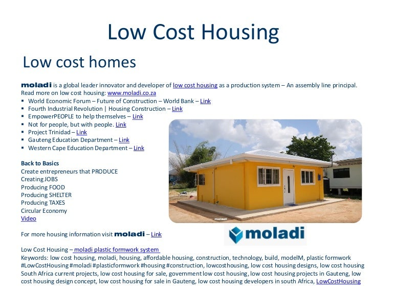 Low cost housing construction building for Sedie design low cost