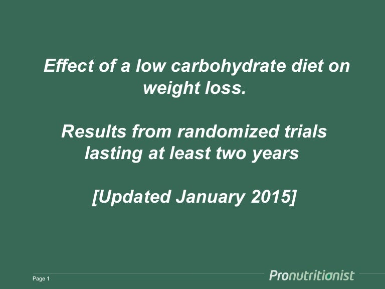 no carb diet long term effects