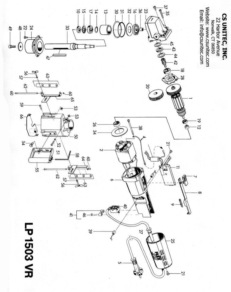 CS Unitec Surface Finisher: LP 1503 AIR