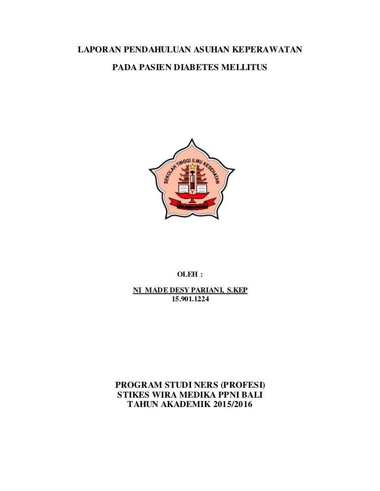 askep diabetes melitus pdf