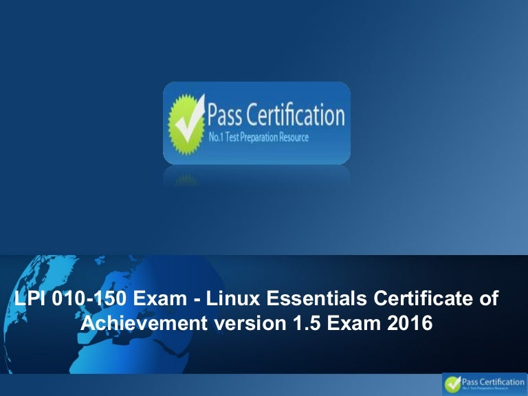 lpi linux essentials module 1 The exciting new comptia linux+ / lpic - 1 cert guide, premium edition practice test is a digital-only certification preparation product combining an ebook with enhanced pearson it certification practice test the premium edition ebook and practice test contains the following items.