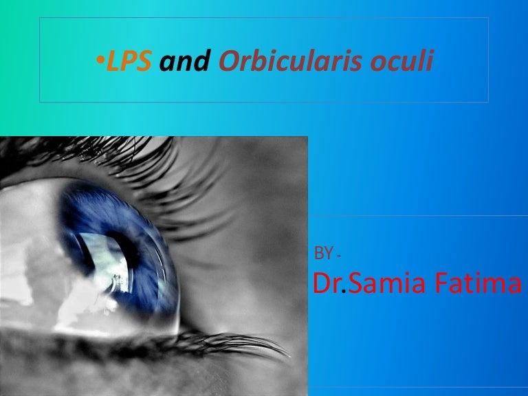 Lps And Orbicularis Oculi