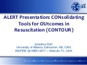 Alert 2017 duff co_nsolidating tools for outcomes