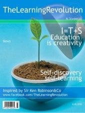 Education as creativity