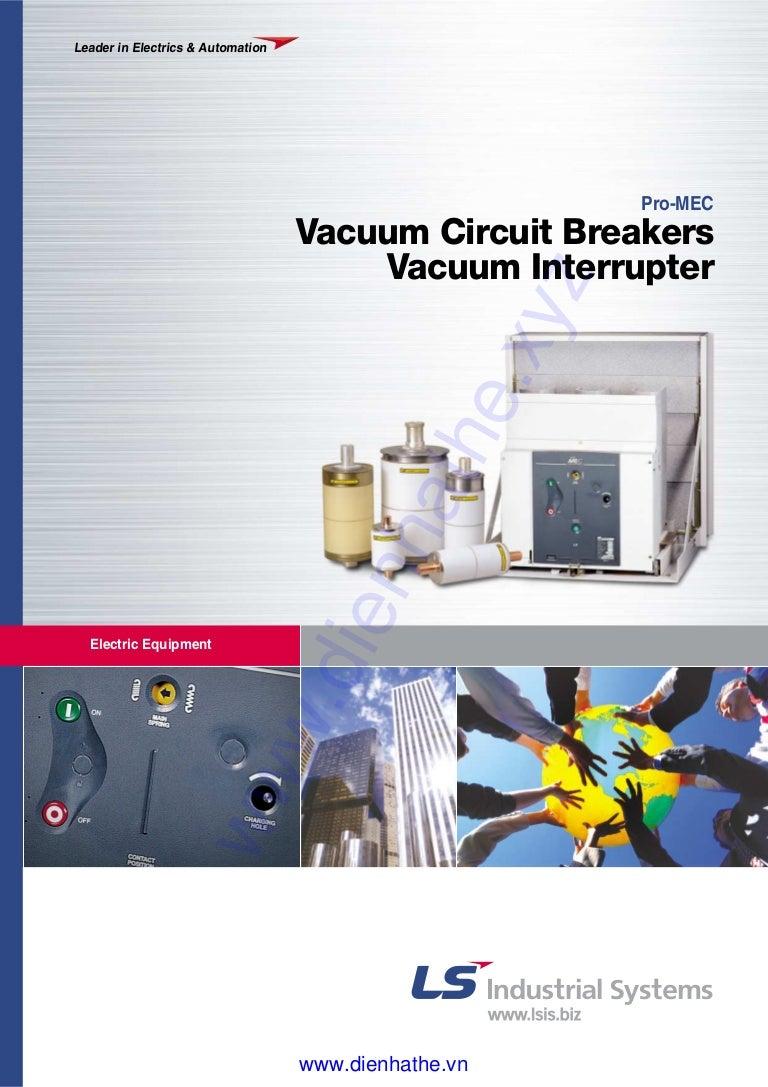 Ls Catalog Thiet Bi Dien Vacuum Circuit Breakers Interrupter 24kv Breaker
