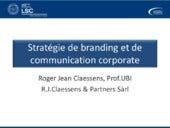Branding and Corporate Communication 2015