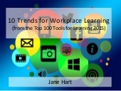 10 Trends for Workplace Learning (from the Top 100 Tools for Learning 2015)