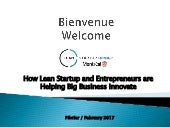 How Lean Startup and Entrepreneurs are Helping Enterprise Innovate
