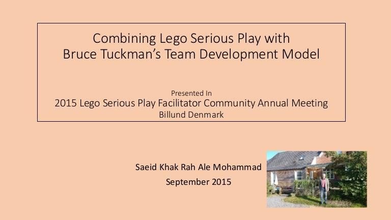 LEGO SERIOUS PLAY community forum presentation by Saeid Khak Rah Ale …