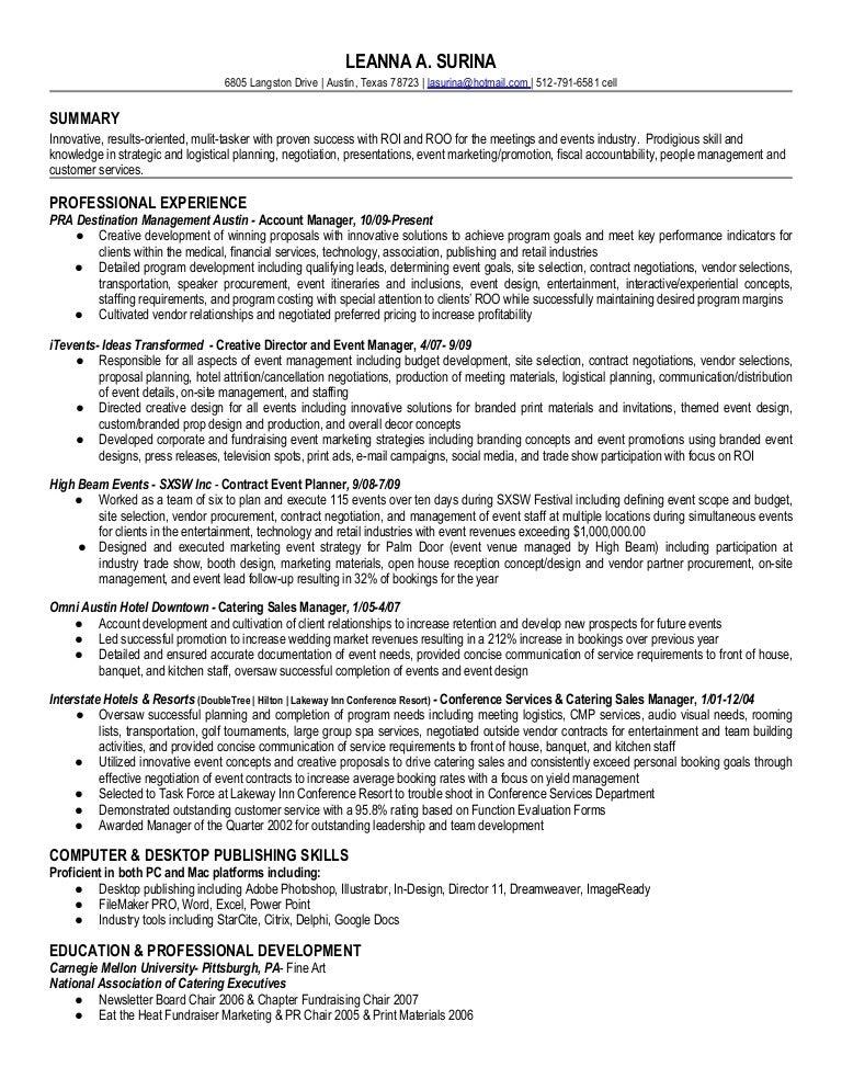 leanna surina resume