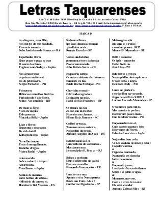 Letras Taquarenses Ano (Lt66 jul15)