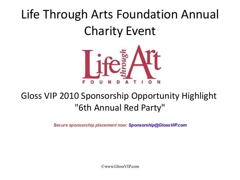 Ltaf Sponsorship Proposal – Party Sponsorship Proposal
