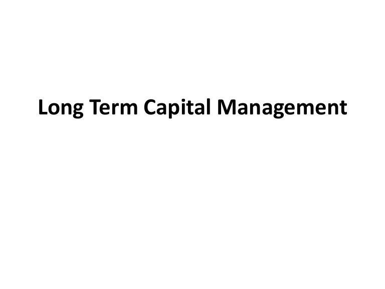 ltcm case study summary