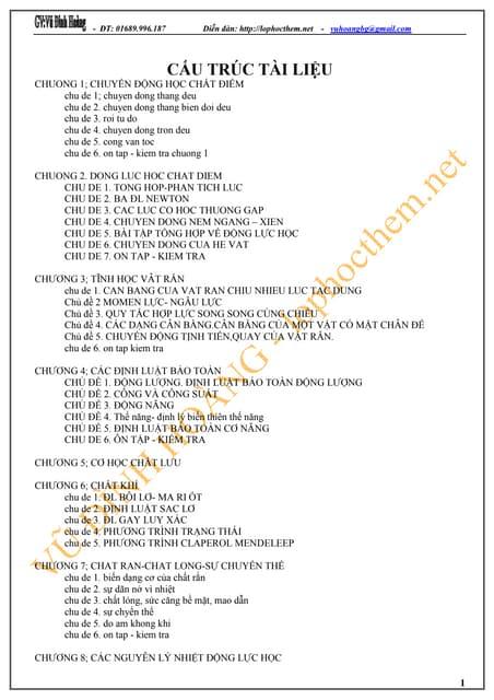 Lý thuyết và bài tập vậy lý 10   1
