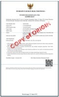 License Of Company - Lim Trading International