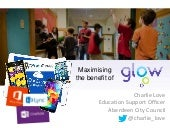 LTT2014 Maximising Benefits Of Glow
