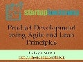 Product Development Using Agile and Lean Principles