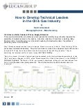 How to Develop Technical Leaders in the Oil & Gas Industry