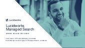 Webinar: Lucidworks Managed Search