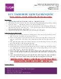 Những lưu ý cần thiết khi đi Tour Hàn Quốc 4N4D