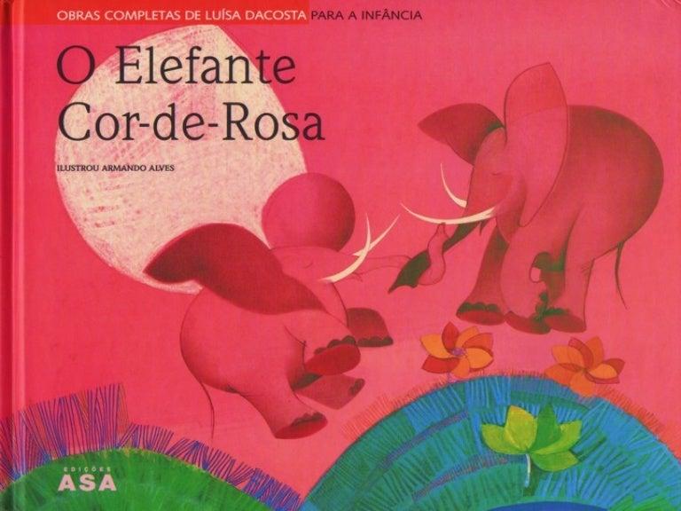 Image result for o elefante cor de rosa