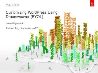 Editing WordPress in Dreamweaver