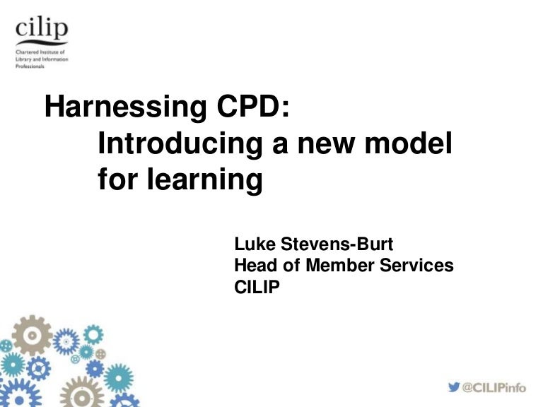 Luke Stevens-Burt: Harnessing CPD: How to make the most of