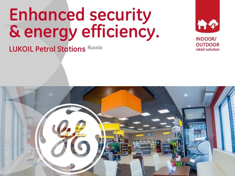 Lukoil Petrol Station Lighting Project of GE Lighting in Russia