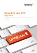 Upgrading your ERP Systems White Paper
