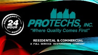 Building Envelope 101: Protechs Restoration Lunch & Learn Series