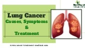 Lung Cancer : Causes, Symptoms And Treatment