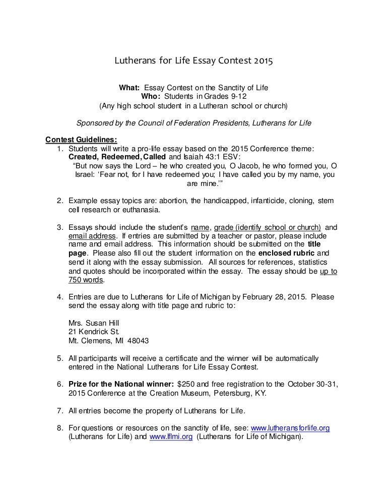 Essay Topics High School  Business Plan Online also What Is A Synthesis Essay Lfl Life Essay Contest  High School Corporate Writing Services